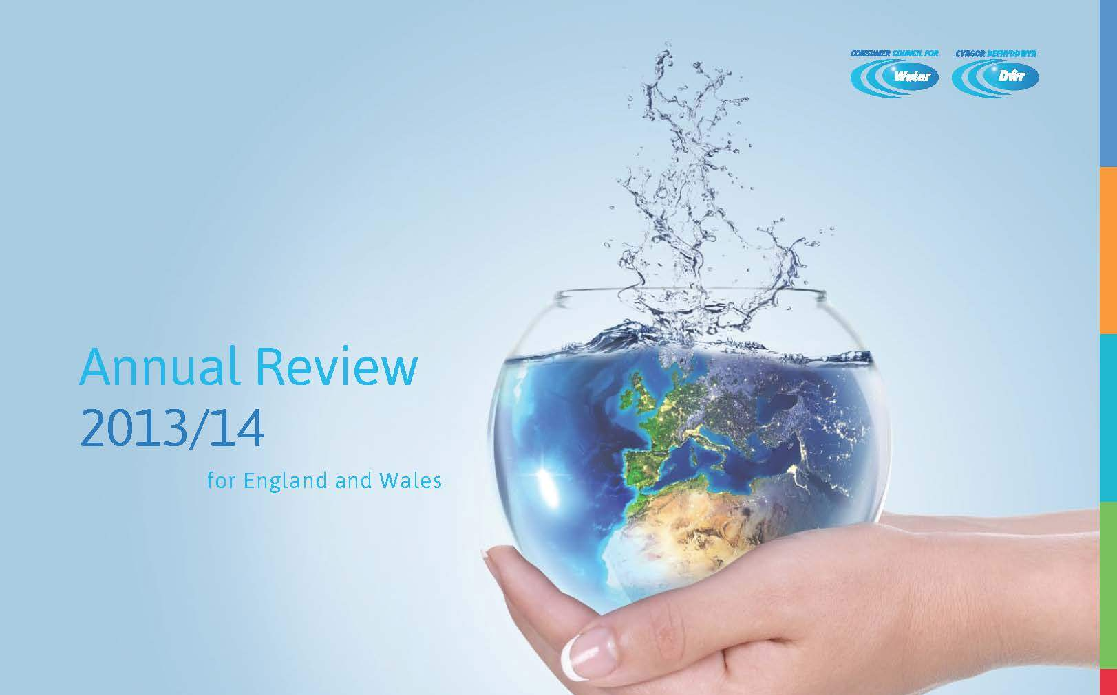CCW Annual Review 2013-14 cover