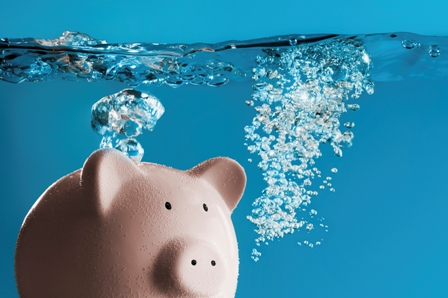Drowning Piggy Bank