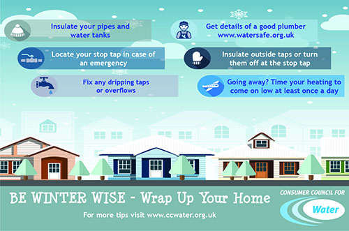 infographic for wrap up for winter