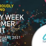 utility week customer summit 2021 virtual event poster