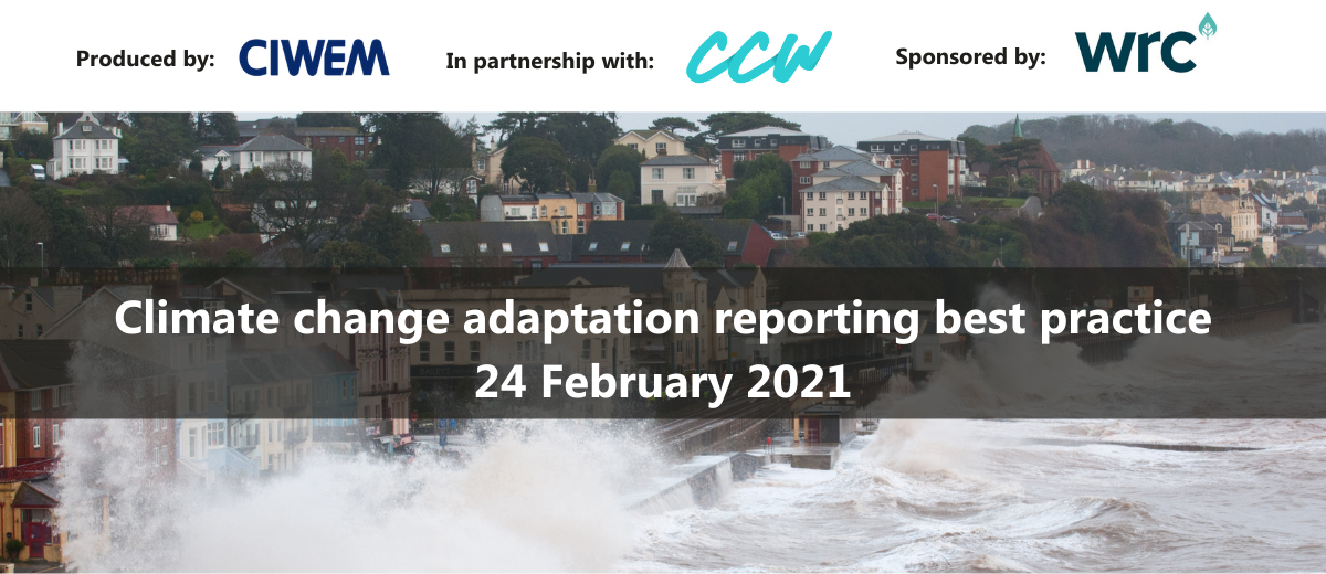 Event image for Climate Change Adaptation Reporting Best Practice