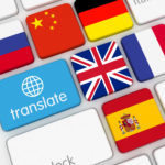 Translate button on a keyboard